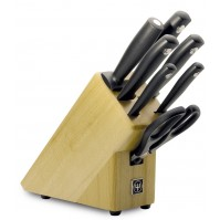 Wusthof Silverpoint 7-piece professional Knife Block