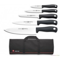 Wusthof Silverpoint 5-piece Knife Bag