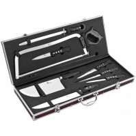 Pradel Excellence 8-piece Professional Butcher Knife Case