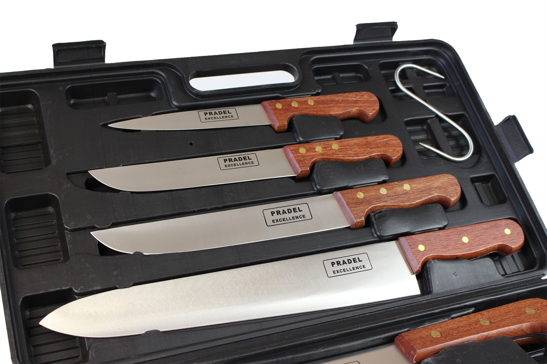 Pradel Excellence 8 Piece Knife Case Made For Butchers