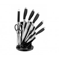 Pradel Excellence 7-piece Knife Block with sharpening steel & kitchen shears