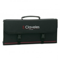 3 Claveles Empty Knife Bag with space for 17 kitchen knives and accessories