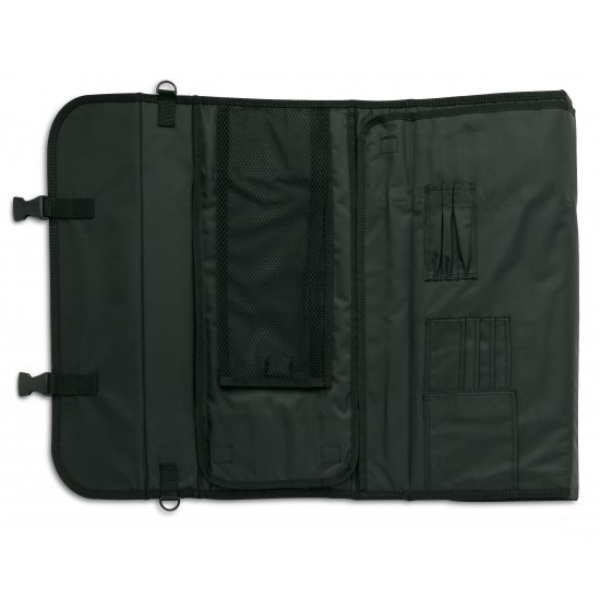 3 claveles 17 piece roll bag for carrying your knives. Black Bedroom Furniture Sets. Home Design Ideas