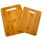 Totally Bamboo Set of 2 cutting boards made of bamboo