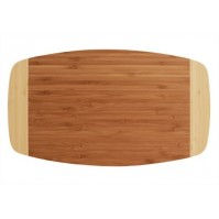 Totally Bamboo Bicolore thin cutting board 37 x 21 cm