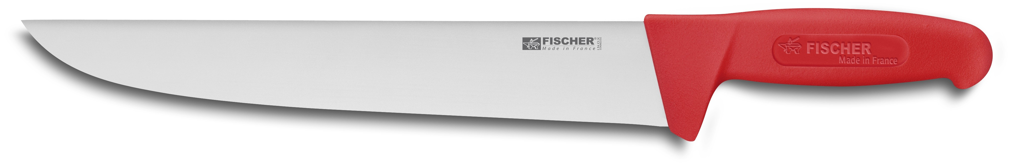 fischer 7 piece professional case for butchers fischer bargoin butcher s professional case 7 knives and accessories red handle