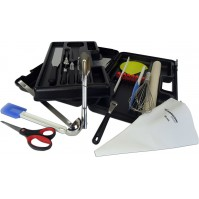 FISCHER Student's Tool Case with 18 kitchen tools + 1 scale + 1 padlock