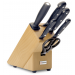 Wusthof Gourmet 6-piece Knife Block natural coloured beech wood