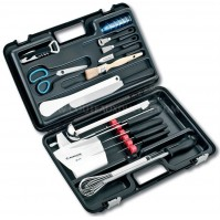 Fischer Professional Knife Case with 24 knives and accessories