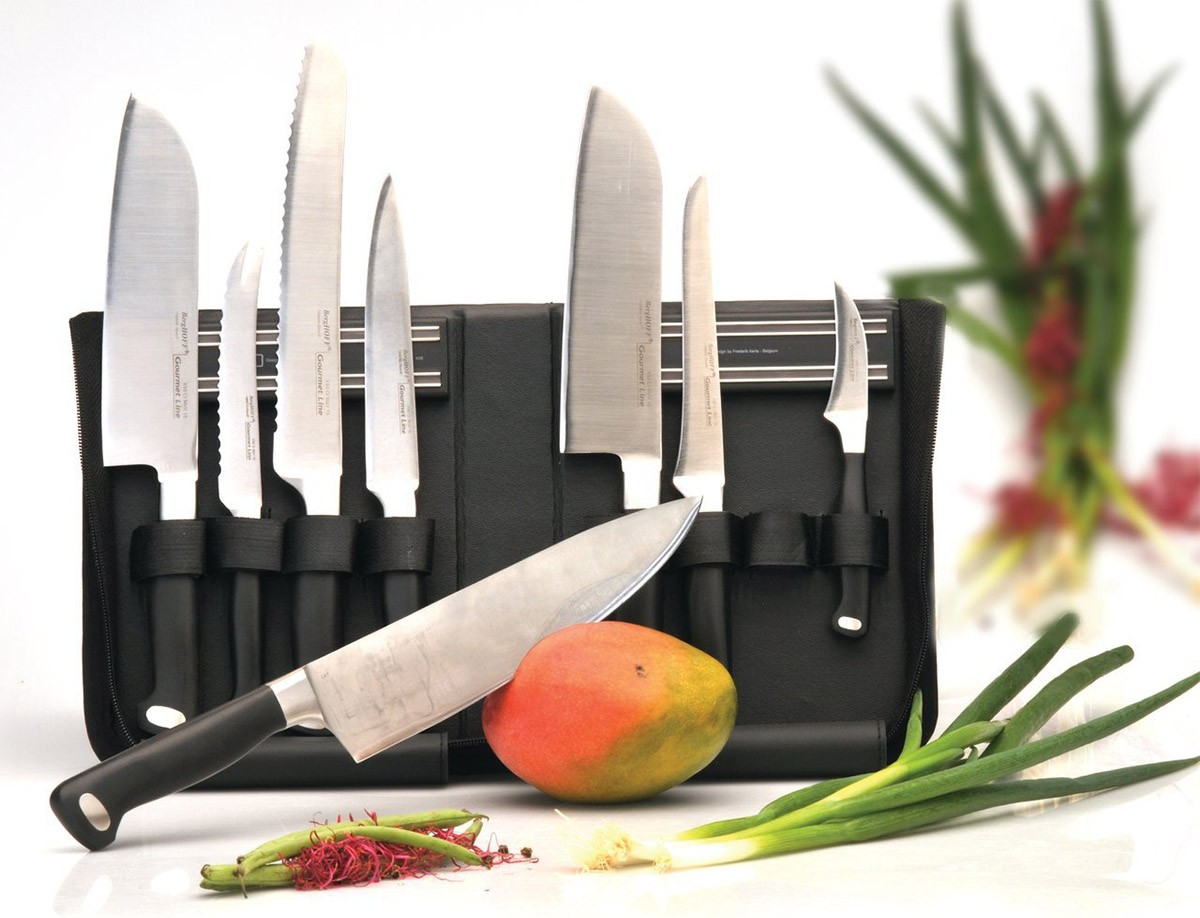find here the berghoff knife case with magnetic holders. Black Bedroom Furniture Sets. Home Design Ideas
