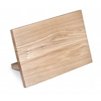 Sabatier International Magnetic Knife Block made of ashwood