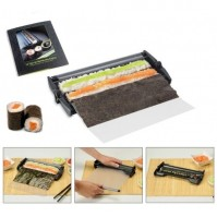 Easy Sushi - Sushi Maker 3.5cm diameter with traction sheet + Recipe book