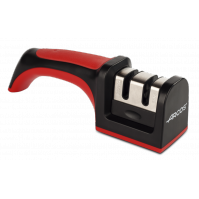 Arcos 2-Stage Manual Knife Sharpener : Tungsten and Ceramic rods