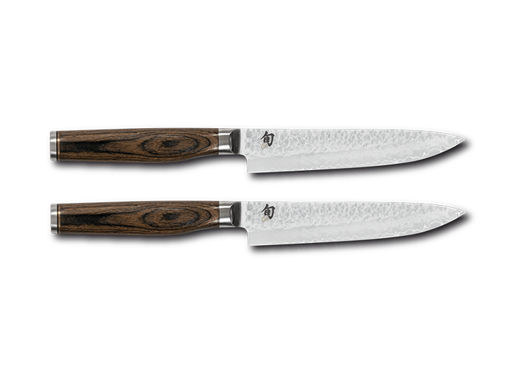 top quality 2 piece steak knife set kai shun tim malzer. Black Bedroom Furniture Sets. Home Design Ideas