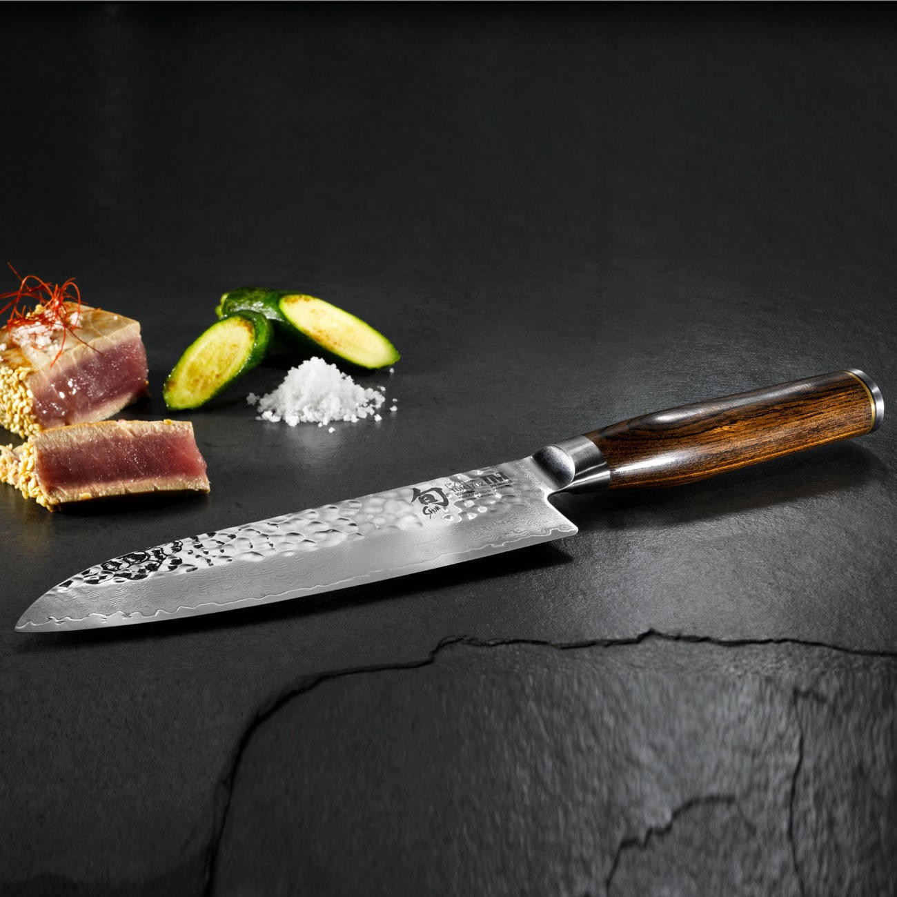kai shun premier tim m lzer series santoku knife 14cm. Black Bedroom Furniture Sets. Home Design Ideas