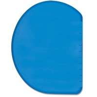 DEGLON Blue Dough Scraper - flexible, round design