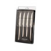 Arcos 4-piece Steak Knife Set with serrated blades 11cm