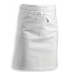 Professional 1/2 Chef Apron 100% cotton 102x65cm - white colour