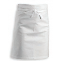 Professional Half Apron 100% cotton 102 x 55cm - white colour