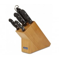 Arcos Maitre Knife Block with 4 knives and 1 sharpening steel