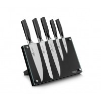 Sabatier International Denver Magnetic Block with 5 kitchen knives
