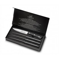 SABATIER Amboise 4-piece Steak Knife Set - triple-riveted handles