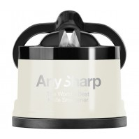AnySharp PRO White Manual Knife Sharpener - The World's Best Knife Sharpener