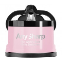 AnySharp Professional Pink Knife Sharpener - The World's Best Knife Sharpener