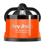 AnySharp PRO Orange Knife Sharpener - The World's Best Knife Sharpener