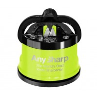AnySharp PRO Lime Green Manual Sharpener - The World's Best Knife Sharpener
