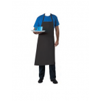 Professional Chef Apron 100% cotton 100 x 100cm - black colour