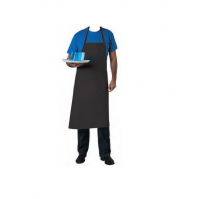 Professional Black Apron 100% cotton - 100 x 100cm