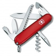 Victorinox Swiss Army CAMPER Knife 13 functions - red colour