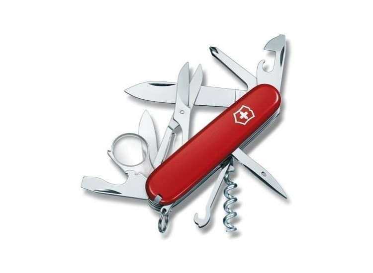 swiss army explorer knife with16 functions victorinox. Black Bedroom Furniture Sets. Home Design Ideas
