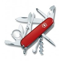 Victorinox EXPLORER Swiss Army Knife 16 functions - red colour