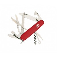 Victorinox HUNTSMAN Swiss Army Knife 15 functions - red colour