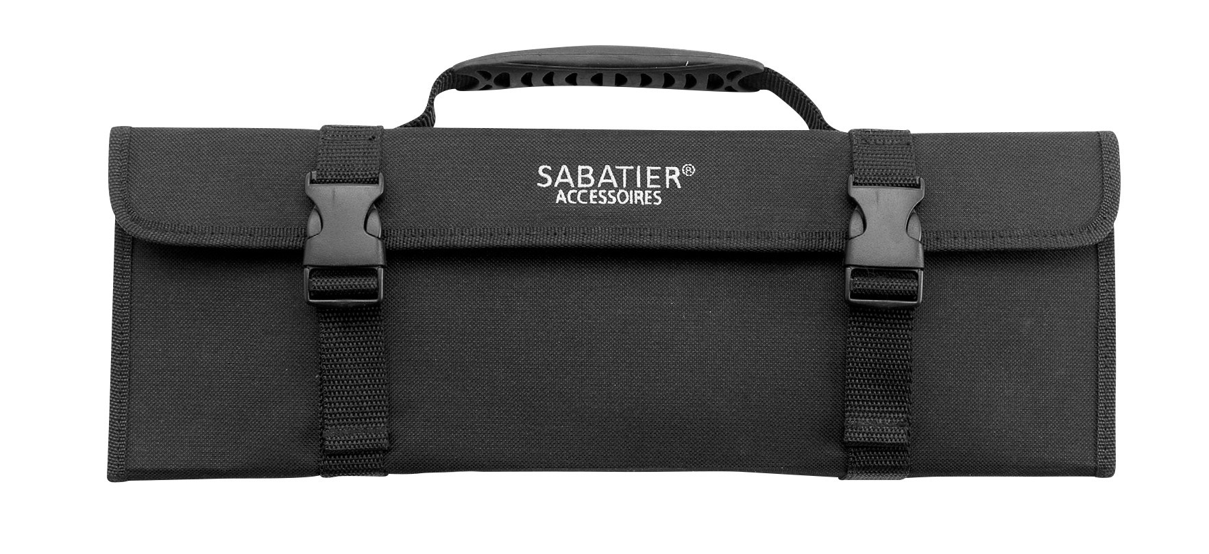 sabatier knife bag with 5 kitchen knives 100 french. Black Bedroom Furniture Sets. Home Design Ideas