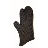 Heat Resistant Oven Glove made of silicone - short cuff