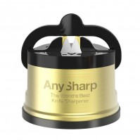 AnySharp PRO Gold Manual Sharpener - The World's Best Knife Sharpener