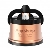 AnySharp PRO Copper Manual Sharpener - The World's Best Knife Sharpener