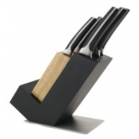 Sabatier International 5-piece Knife Set + Knife Block