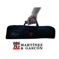 Empty Knife Roll Bag with space for 4 kitchen tools - Martinez & Gascon