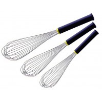 Matfer Pack of 3 Professional Whisks with Exoglass® handles