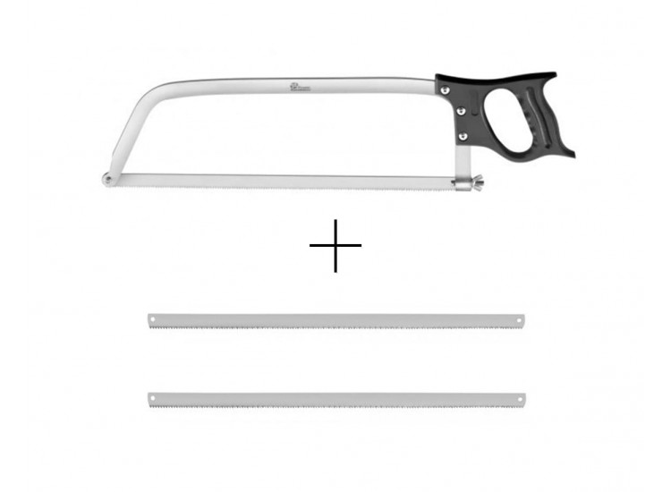Pradel Excellence Butcher Saw 46cm + 2 spare stainless steel blades