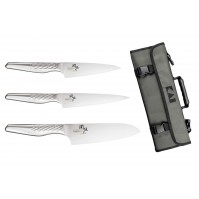 Kai Seki Shoso 3-piece knife set + roll bag