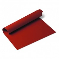 Silicone Baking Mat 60 x 40 cm red colour