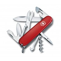 Victorinox Climber Swiss Army Knife 14 functions - red colour