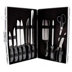 Pradel Excellence 8-piece Butcher Knife Case + 3 accessories