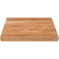 Kai Oak Wood Cutting Board 39 x 26 x 3.6 cm - Non-slip rubber feet