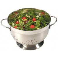 Matfer Stainless Steel Colander with 2 handles - diameter 25cm